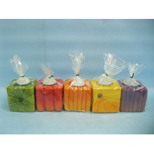 Pumpkin Candlestick Shape Ceramic Crafts (LOE2366A-7z)