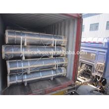 Eletrodo de grafite HP / HP / UHP com bicos para EAF e LF