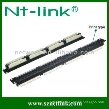 24 port cat5e rj45 patch panel