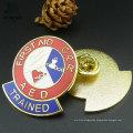 Free Design Metal Crafts Enamel Badge Custom Lapel Pins No Minimum