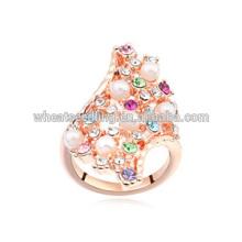Los anillos de piedra más vendidos de las señoras de la voga de la voga