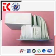 China famoso alumínio branco die cast armazenamento corpo