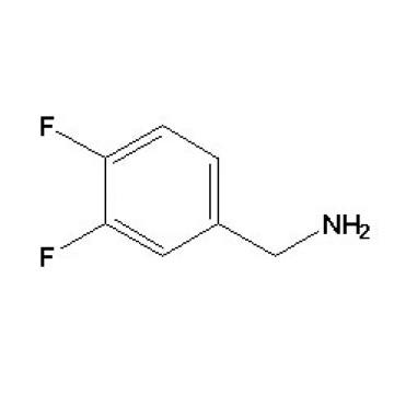 3, 4-difluorobenzylamine N ° CAS 72235-53-1
