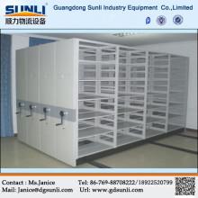 Customized warehouse storage mobile shelving