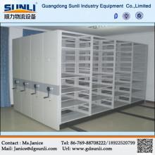 Prateleiras móveis de armazenamento personalizado