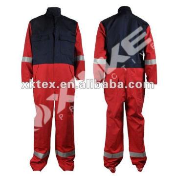 roupas antiestáticas retardantes de chamas de algodão