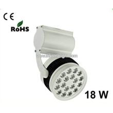 2015 Heißer Verkauf CE RoHs Aluminium gute Qualität 18w führte Schienen-Licht