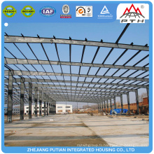 Bâtiment d'entrepôt de structure en acier léger de haute qualité à faible coût