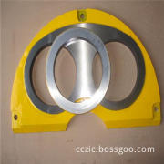 Putzmeister Concrete Pump Wear Plate and Cutting Ring