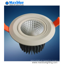 20W 240V Dimmable COB LED recesso Downlights
