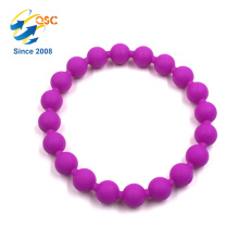 New product silicone ball bracelet Multicolor Customizable