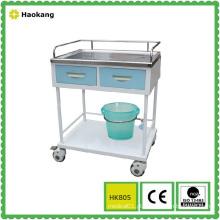 Mobiliário hospitalar para tratamento médico trolley (HK805A)