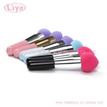 Color brillante belleza necesita maquillaje pincel personalizado embalaje