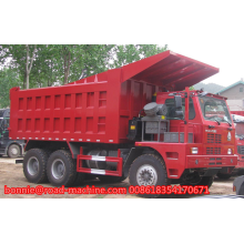sinotruk 6wheel Madencilik King damperli kamyon