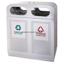 Outdoortrash обработка нержавеющей стали может / корзина для мусора (DL43)