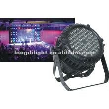 Melhor preço dmx palco luz IP65 impermeável 54x3w rgbw levou par 64