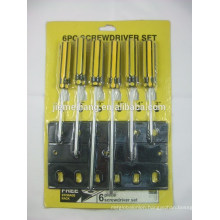 6PC SCREWDRIVER SET FACTORY YIWU