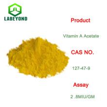 Pharma Grade ou poudre de vitamine A d'acétate de catégorie comestible