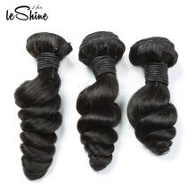 Meistverkaufte Produkte brasilianisches reines Haar, kostenlose Probe Haarbündel, lose tiefe Welle russische blonde reines Haar
