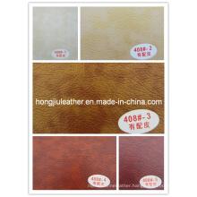 China Manufacturer of PVC Leather (Hongjiu-408#)