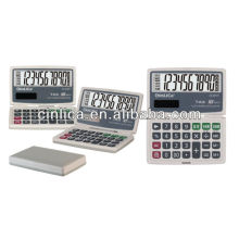 foldable calculator/10 digits dual power cheap solar calculator JS-2010T