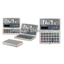 Calculadora dobrável / 10 dígitos dual poder barato calculadora solar JS-2010T