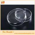 Boîte de Pétri en verre / plastique à usage hospitalier