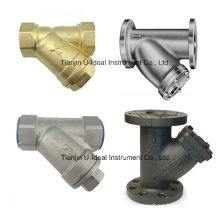 Y-Type Strainers-Line Strainers with Threaded or Flanged Ends