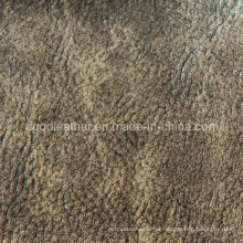 High Quality Breathable PU Furniture Leather (QDL-FB0012)