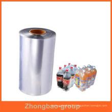 packaging materials custom printing heat POF shrink film from China