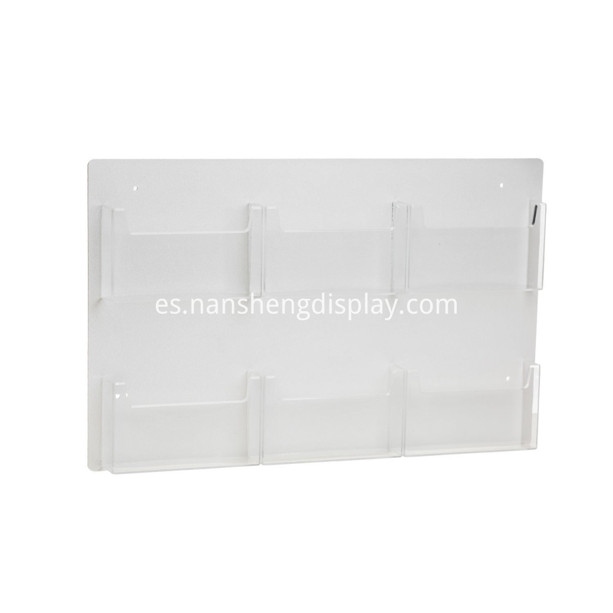 Clear Acrylic Postcard Holder