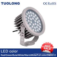 Reflector del poder más elevado del LED 60W con DMX512 luz al aire libre del RGB LED del control IP65