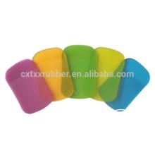 Alfombra anti del coche del resbalón del color del arco iris, cojín colorido del coche de la PU del resbalón