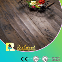 Household 12.3mm E0 HDF AC3 Embossed Oak V-Grooved Laminated Flooring