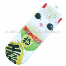 Venta al por mayor calcetines de tubo personalizado de dibujos animados