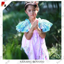 JannyBB frilled frock designs pink easter dresses