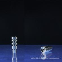 Domeless Heatsink Designs 14 milímetros e 18 milímetros Universal Titanium Nail (ES-TN-008)