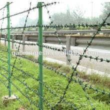 Fabricantes de alambre de púas en china anping