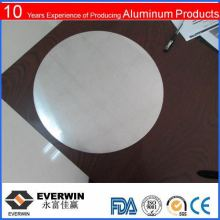 DC 3003 Aluminium Circle Mill Finish 0.25mm-6.0mm For Decoration