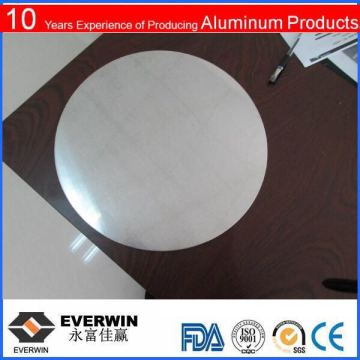 using pan aluminium circle is round