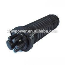 Dome 2in 2out 24 48 96cores Imperméable Extérieur Cluster Fiber Optic Cable Splice Closure