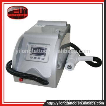 Machine d'élimination des tatouages des prix d'usine