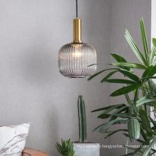 Nordic  minimalist modern luxury  art glass pendant light for Livingroom