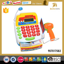 Newest educational cash register toy with music and light