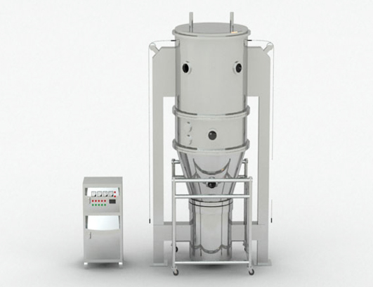 New Condition Fluidized Bed Granulator
