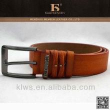 Novo design de alta qualidade personalizado cinto de couro