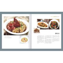 Kundenspezifisches Restaurant-Menü Benutzerdefinierte Katalog Broschüre Drucken