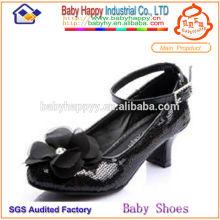 Schwarze Sequins Kinderschuh für Kinder