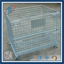 Lockable Pallet Cage For Warehouse