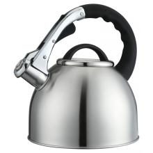 Arcs Caping of Lid Silver Whistling Kettle